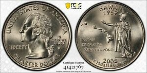 Click now to see the BUY IT NOW Price! 2008 D HAWAII PCGS MS67  STATE QUARTER BUSINESS STRIKE