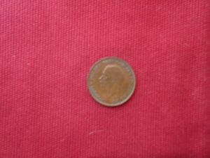 1928 GREAT BRITAIN 1 LARGE PENNY UK ENGLAND COIN GEORGE V