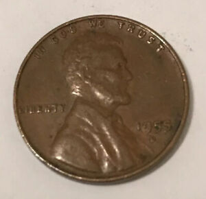 1955 D WHEAT PENNY