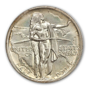 Click now to see the BUY IT NOW Price! OREGON 1939 50C SILVER COMMEMORATIVE PCGS MS68