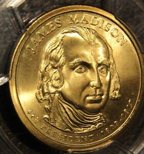 Click now to see the BUY IT NOW Price! 2007 P  JAMES MADISON   ERROR  ONLY 2 DISCOVERED PCGS MS 67