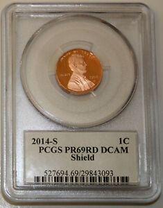 2014 S  LINCOLN CENT PCGS PR69RD DCAM SIGNED BY LYNDALL BASS