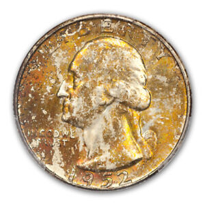 Click now to see the BUY IT NOW Price! 1952 D 25C WASHINGTON QUARTER PCGS MS67   CAC