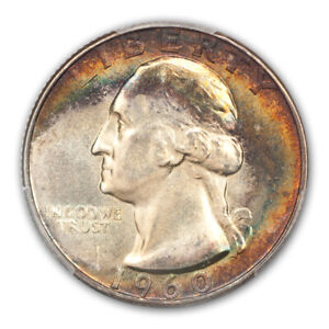 Click now to see the BUY IT NOW Price! 1960 25C WASHINGTON QUARTER PCGS MS67