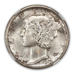 Click now to see the BUY IT NOW Price! 1919 S MERCURY DIME 10C NGC MS65FB