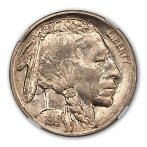 Click now to see the BUY IT NOW Price! 1914 S BUFFALO NICKEL TYPE 2 5C NGC MS67
