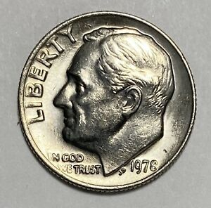 1978 ROOSEVELT DIME 10 CENTS CIRCULATED COIN   3131