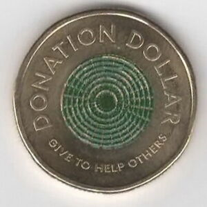 ROYAL AUSTRALIAN MINT DONATION $1 COIN 2020 CIRCULATED ONE DOLLAR    FREE POST