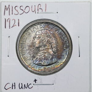 1921 50C MISSOURI COMMEMORATIVE HALF DOLLAR IN CHOICE UNC  CONDITION 04026