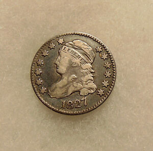 1827 CAPPED BUST DIME   BETTER DATE   NICE LOOKING COIN