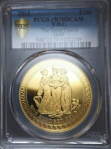 Click now to see the BUY IT NOW Price! 2015 GOLD THREE GRACES 3 GRACES PROOF COIN PCGS PR70