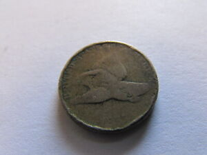 1857 FLYING EAGLE ONE CENT PHILADELPHIA MINT COPPER PENNY 1C COIN 2 YEAR TYPE