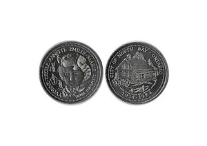 1984 NORTH BAY ON DIONNE QUINTS 50 YEARS COMMEMORATIVE TOKEN CANADA
