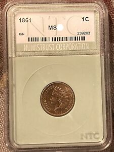 Click now to see the BUY IT NOW Price! 1861 INDIAN CENT RED GEM UNCIRCULATED