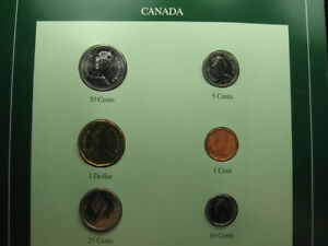 FRANKLIN MINT WORLD COIN SETS OF ALL NATIONS CANADA CENTS DOLLAR  138