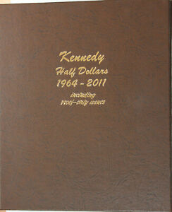 COMPLETE SET 1964 2011 KENNEDY HALF DOLLARS PDSS  INCLUDES 1981 TYPE 2 PROOF