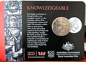 ANZAC 20C COIN   KNOWLEDGEABLE