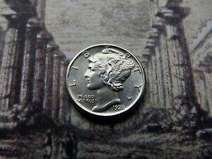 Click now to see the BUY IT NOW Price! 1928 D MERCURY DIME  MS