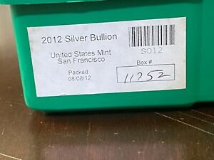 Click now to see the BUY IT NOW Price! 2012 SAN FRANCISCO MINT SILVER EAGLE MONSTER BOX