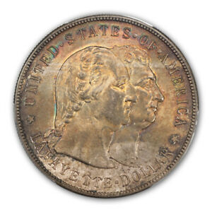 Click now to see the BUY IT NOW Price! LAFAYETTE 1900 $1 SILVER COMMEMORATIVE PCGS MS65