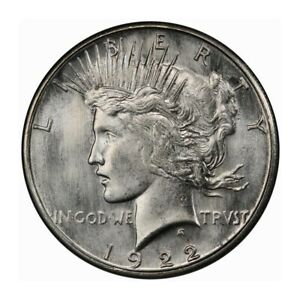 Click now to see the BUY IT NOW Price! 1922 S $1 PEACE DOLLAR PCGS MS66 3241 2