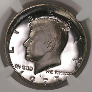Click now to see the BUY IT NOW Price! 1977 S KENNEDY 50C TRIPLE STRIKE MINT ERROR ALL STRIKES OFF CENTER NGC PF66 CAM