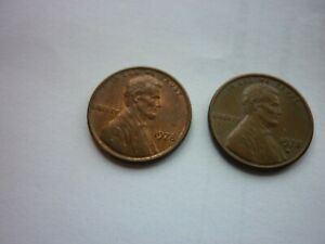 1978 AND 1978 D LINCOLN MEMORIAL ONE CENT / PENNY  2 FOR THE PRICE OF ONE  NICE