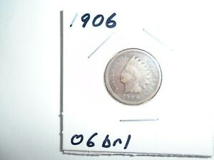 1906 P INDIAN HEAD CENT / PENNY  CIRCULATED