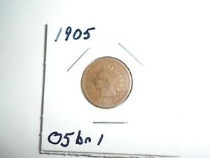 1905 P INDIAN HEAD CENT / PENNY  CIRCULATED
