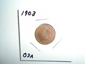 1903 P INDIAN HEAD CENT / PENNY  CIRCULATED