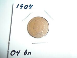 1904 P INDIAN HEAD CENT / PENNY  CIRCULATED