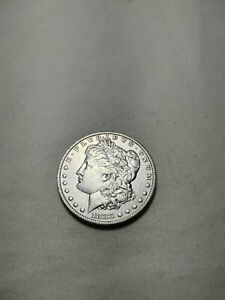1883 XF /AU   MORGAN SILVER DOLLAR W/ NO MAJOR DINGS OR ABRASIONS ON EITHER SIDE
