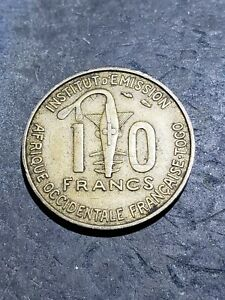 Click now to see the BUY IT NOW Price! 1957 FRENCH WEST AFRICA 10 CFA FRANCS  TOGO  COIN OCT161