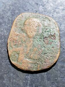 Click now to see the BUY IT NOW Price! AUTHENTIC BRONZE BYZANTINE ANCIENT COIN     OCT611