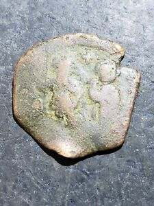 Click now to see the BUY IT NOW Price! AUTHENTIC BRONZE BYZANTINE ANCIENT COIN     OCT612