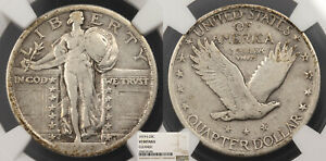 1919 S STANDING LIBERTY 25 CENTS  QUARTER  NGC VF US89976
