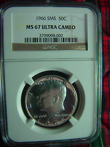 Click now to see the BUY IT NOW Price! 1966 SPECIAL MINT SET  SMS  KENNEDY HALF NGC MS67 ULTRA CAMEO