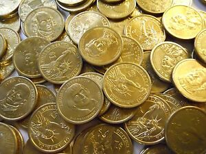 Click now to see the BUY IT NOW Price! LOT OF $250 IN CIRCULATED GOLD PRESIDENTIAL DOLLARS. 2008 2011 MOST DENVER