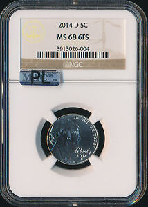 Click now to see the BUY IT NOW Price! 2014 D JEFFERSON NICKEL NGC MAC MS68 FS PL FINEST REGISTRY
