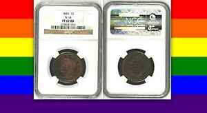 Click now to see the BUY IT NOW Price! 1845 NGC PR62RB $9 500 NGC PRICE GUIDE  6  MINTED BRAIDED HAIR LARGE CENT 1C