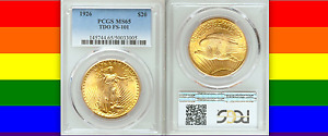 Click now to see the BUY IT NOW Price! 1926 TDO PCGS MS65 TRIPLED DIE OBVERSE $20 SAINT GAUDENS DOUBLE EAGLE