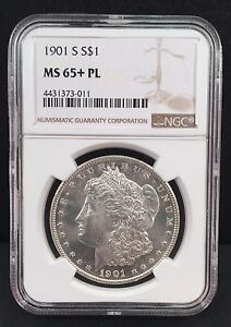 Click now to see the BUY IT NOW Price! 1901 S MORGAN SILVER DOLLAR NGC MS 65  PROOF LIKE