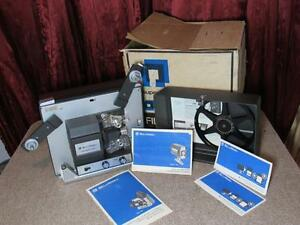 bell howe 358s super 8 movie projector