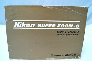 nikon super zoom 8 super 8 movie camera