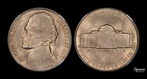 1946 D JEFFERSON NICKEL NGC MS66 ANTIQUE GOLD COLOR TONED