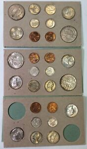 Click now to see the BUY IT NOW Price! 1947 ORIGINAL DOUBLE MINT SET   HARD TO FIND THIS CHOICE