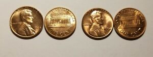 1964P / 1964D   LINCOLN WHEAT CENTS FROM BU ROLLS