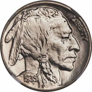 Click now to see the BUY IT NOW Price! 1935 BUFFALO 5C SILVER NICKEL NGC MS68 BV $32 000  GREAT PRICE
