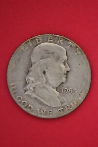 1953 S BEN FRANKLIN HALF DOLLAR EXACT COIN PICTURED FLAT RATE SHIPPING TOM017
