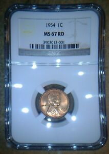 Click now to see the BUY IT NOW Price! 1954 P LINCOLN WHEAT CENT HOARD PCGS/NGC MS65 66 AND 67RD